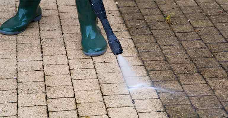 Limpieza con Agua a Alta Presión
